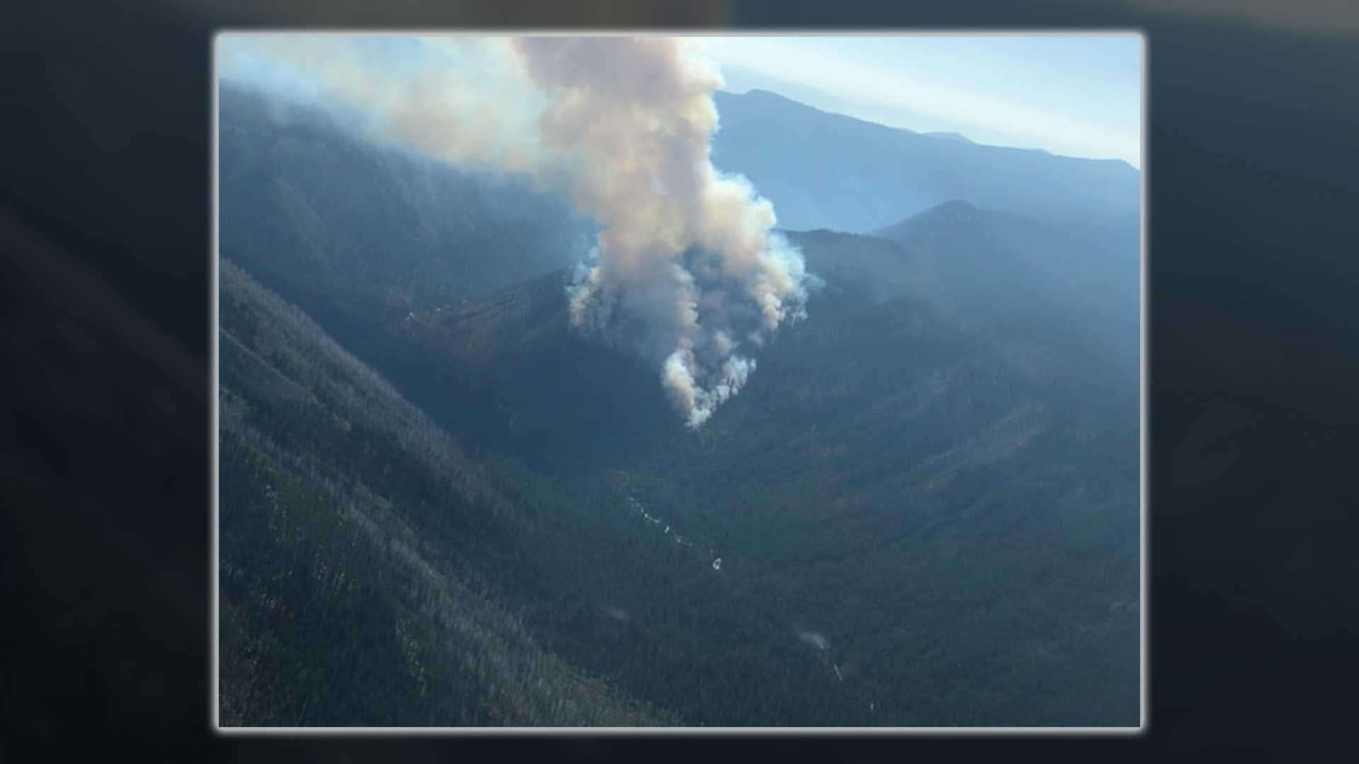 Gopher Fire burns 220 acres along the Jackson-Klamath County line in the Sky Lakes Wilderness. (USFS)