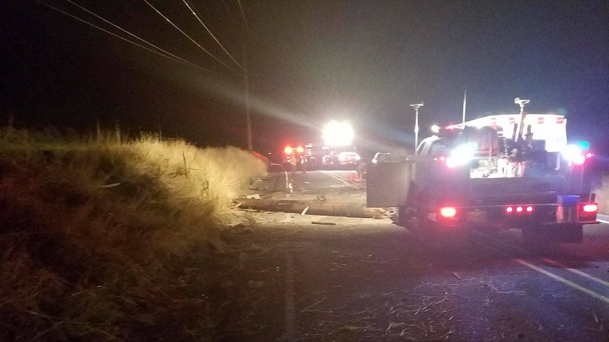 A single vehicle crash on Highway 50 near Malin, Ore. claimed the life of Jessica Harris, 33, of Tulelake, Calif. (Oregon State Police)