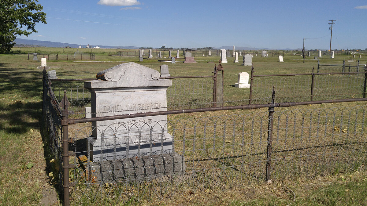 The Old Merrill Cemetery will be the setting for the Klamath County Museum's Night at the Cemetery program on Oct. 5. (Submitted photo)