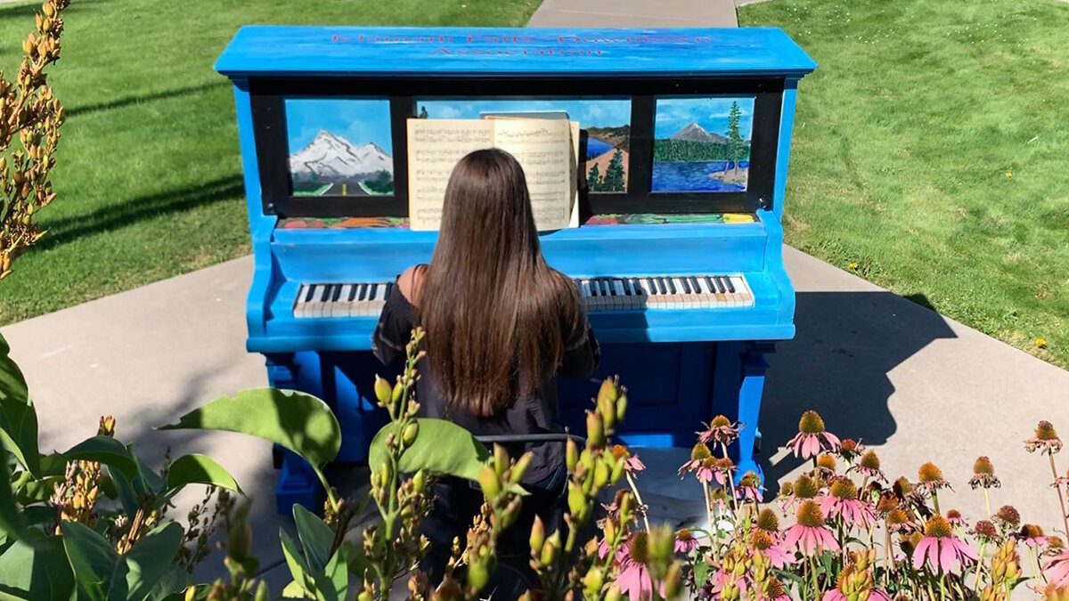 Image:  Klamath Piano Project, Facebook