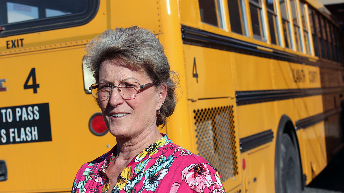 The last route: Davida Croy is retiring after 28 years driving school bus for Merrill and Malin students.