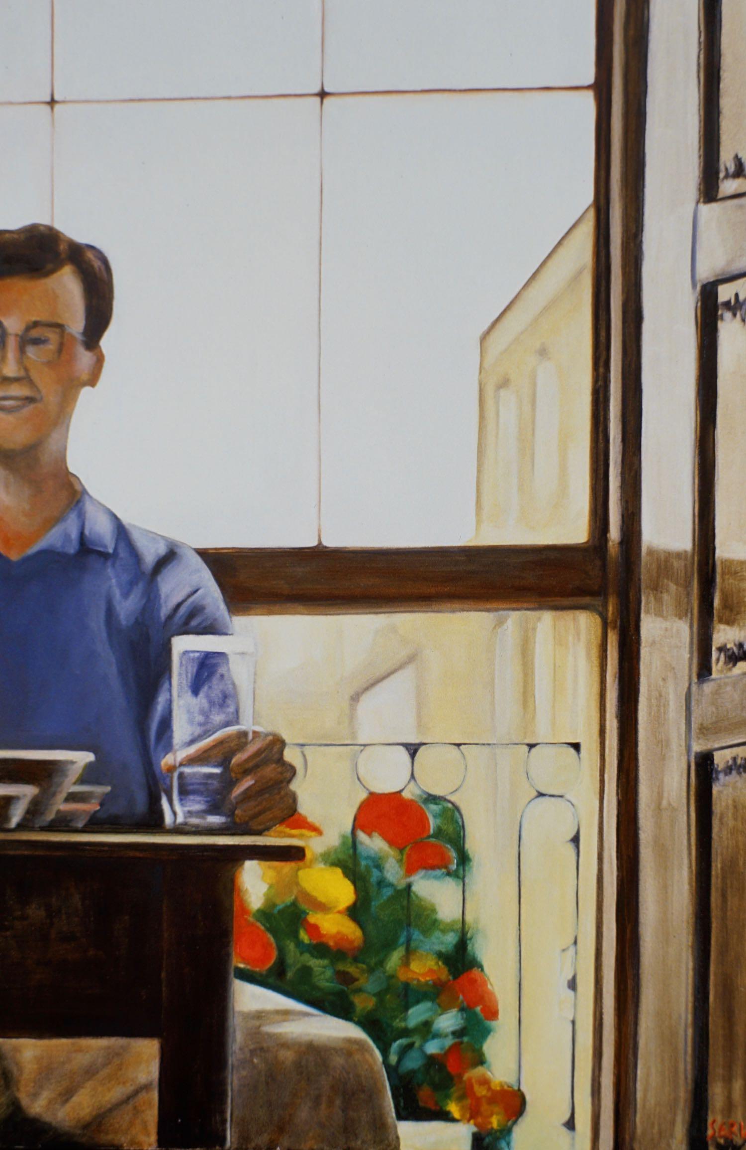 """Aberdeen Waterglass, 36"""" x 24"""" oil/canvas"""