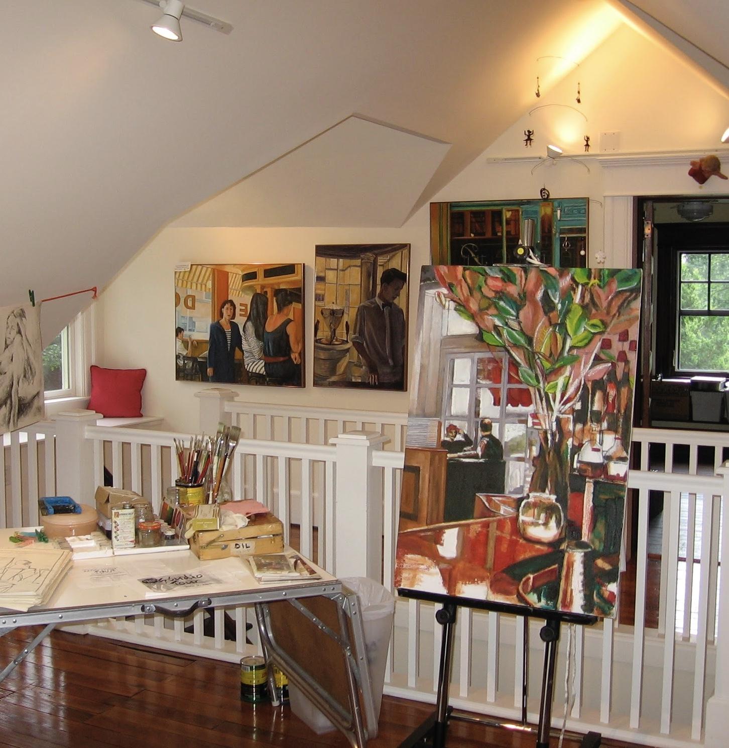 studio tour of south orange & Maplewood   (Home Studio) -