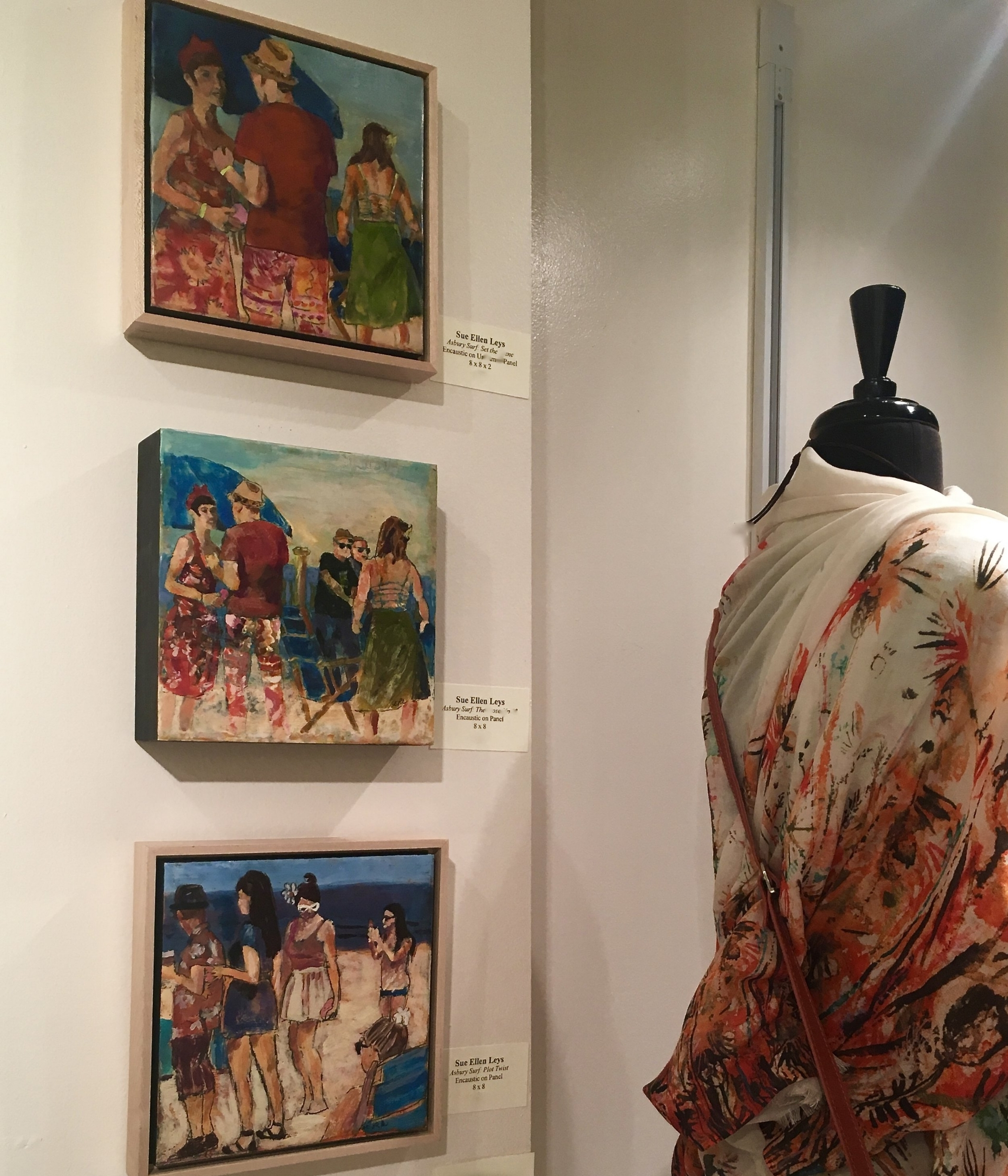 2018 Exhibition continuing atthe Tenth muse: - For the SOUTH ORANGE/ MAPLEWOOD ARTISTS STUDIO TOUR June 2 & June 3:Showing at The Tenth Muse Gallery170 Maplewood Ave., MaplewoodHours: M-W 10-6, Th-Sat 10-8