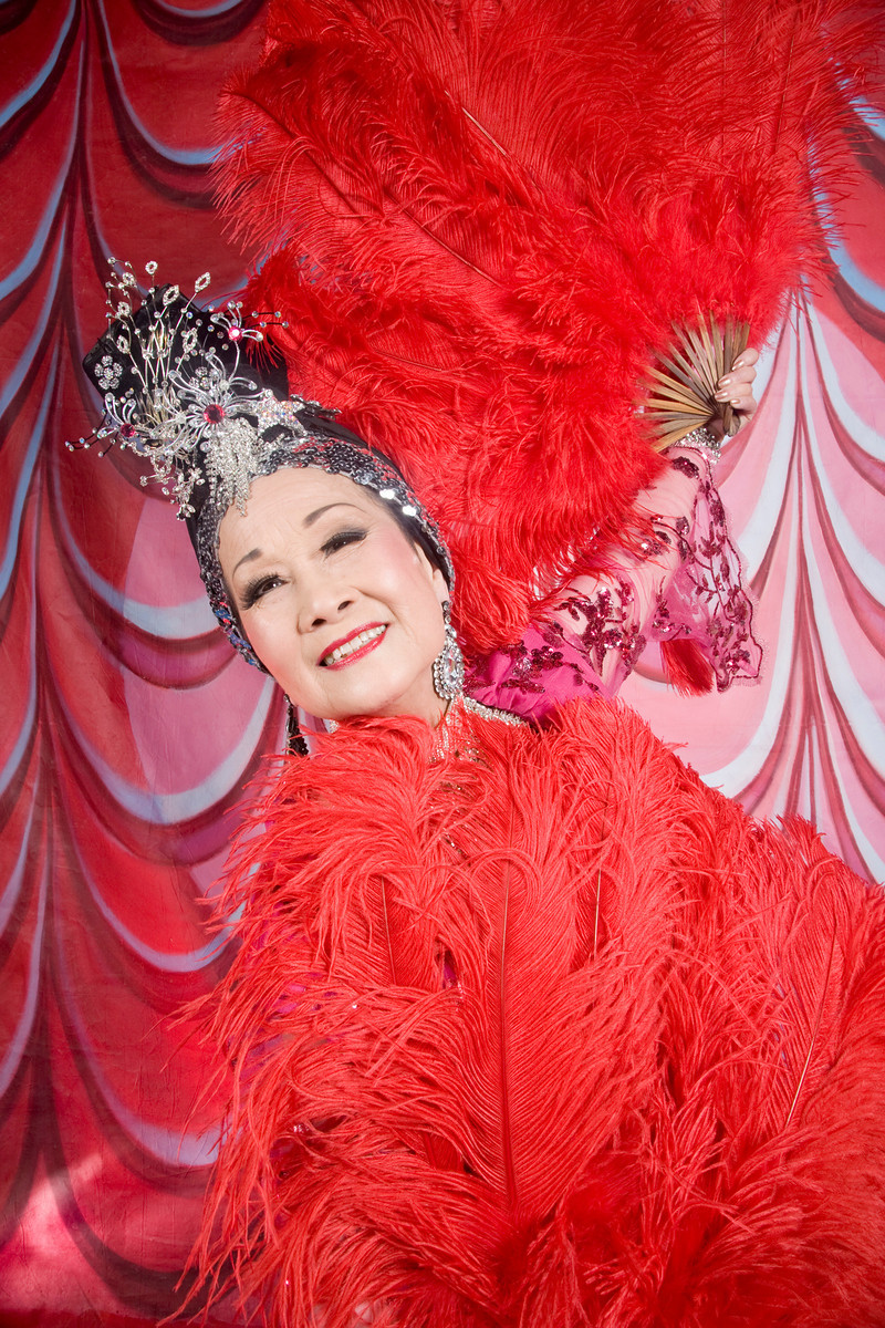 Miss Ivy Tan of the Grant Ave Follies. SanFrancisco