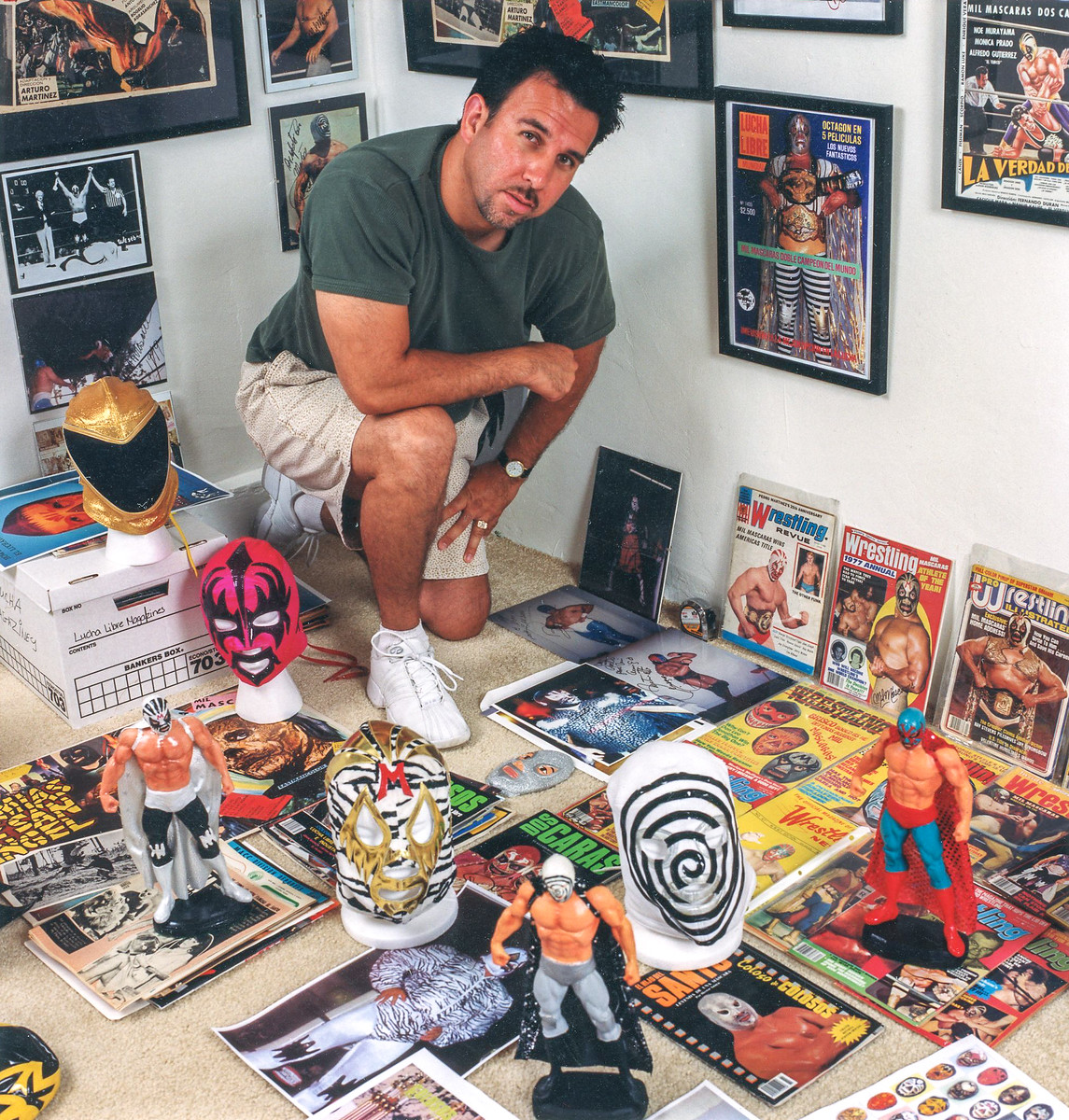 Lucha Promoter with collection