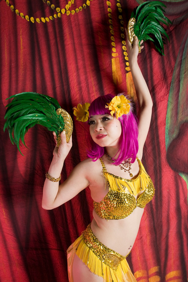 Violet Eva Exotic World 2010 Plaza Hotel