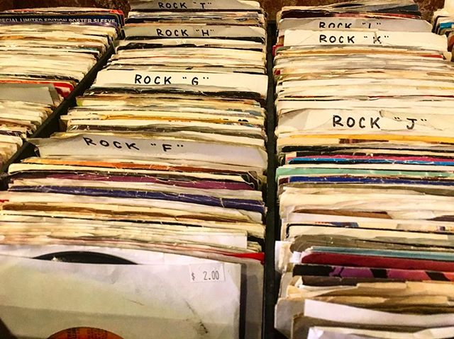 Rocking through the week thanks to finds from @cosmicvinyl 🎸 What place should we check out next? . . . . . #recordcollection #vinyl #albums #musiclabel #music #musicians #artists #collectors #vintage #madarchives #design #rock #recordlabel #echopark #coolfinds #losangeles