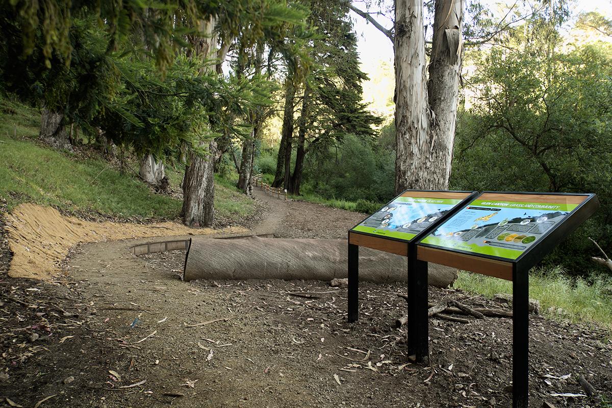 Creek & Grassland Interpretive Signage