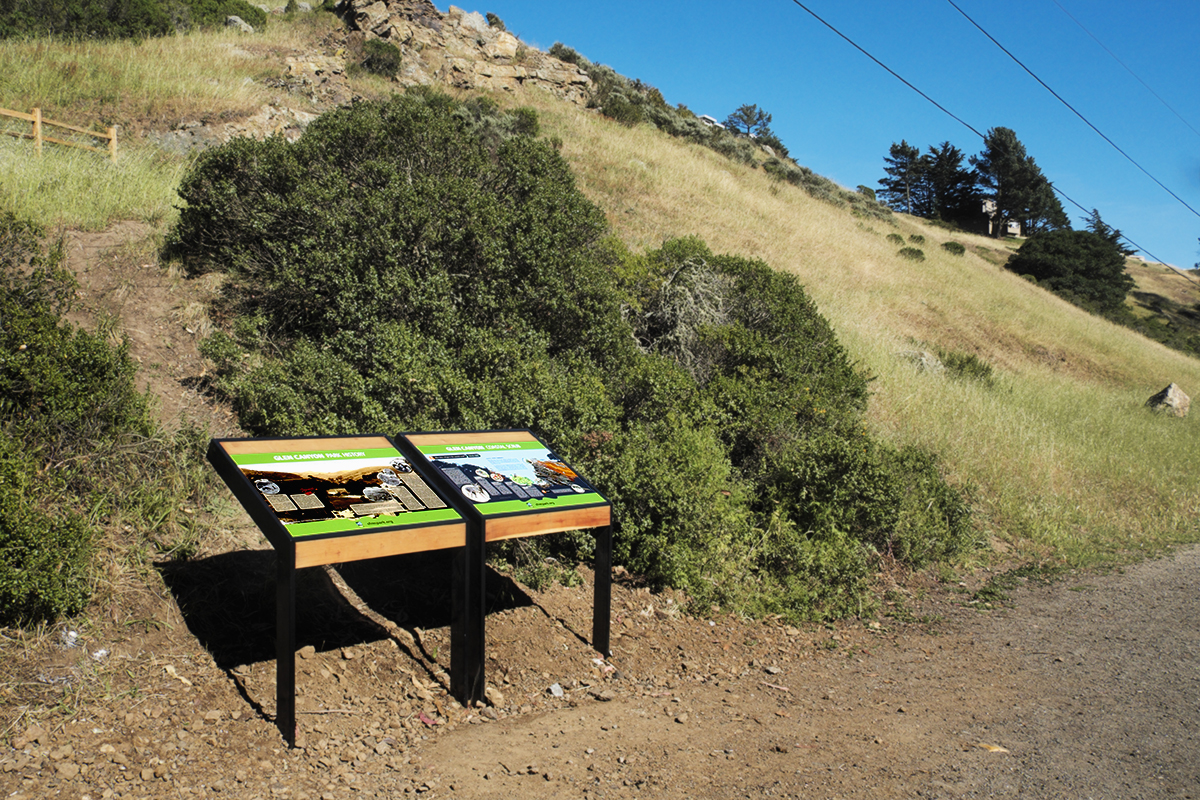 History & Creek Interpretive Signage