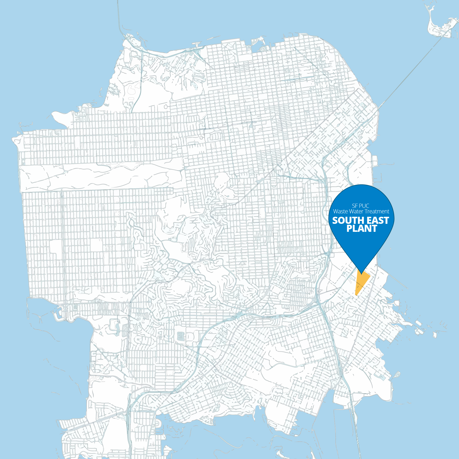 San Francisco's South East Waste Water Treatment Plant | SEP