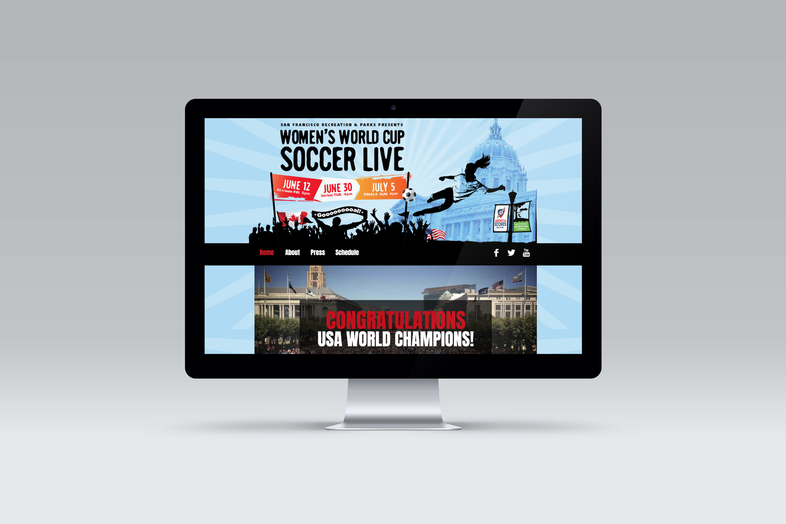 2015 Website Women's World Cup