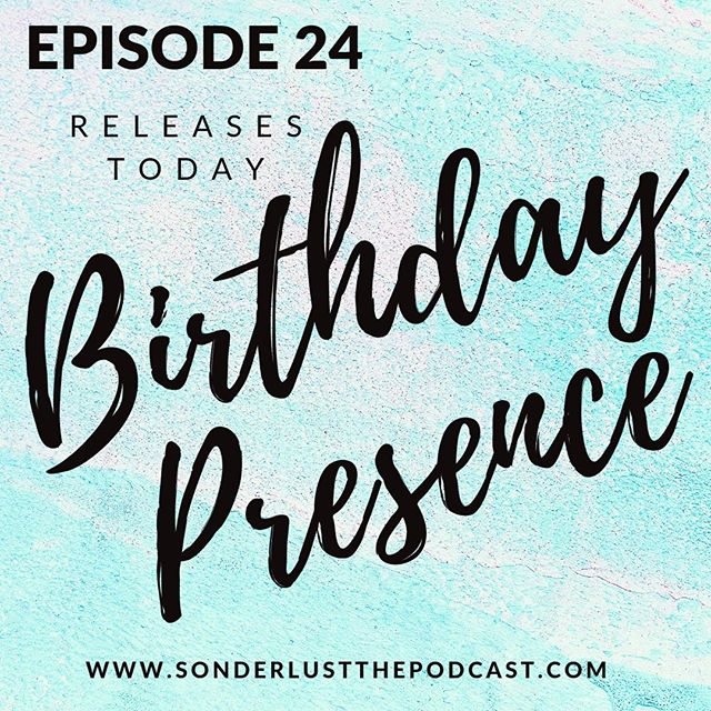 "EPISODE 24 - Birthday Presence: ATTENTION!! This might just be the best Sonderlust episode yet!! As Sarah celebrates her birthday and the anniversary of this challenge, she is met with an overflowing amount of wisdom, love and affirmation from those around her. With a new home and a change of scenery, Sarah is also starting to discover a newness about her. Even though there are challenges that come along with dating, finding community and life back at work, Sarah is finding joy in being present to the gift of life that she already has. ""I think I am finding the real me and I can't wait to meet her more."" - Sarah Heath #BirthdayPresence #Celebrate #Challenge"