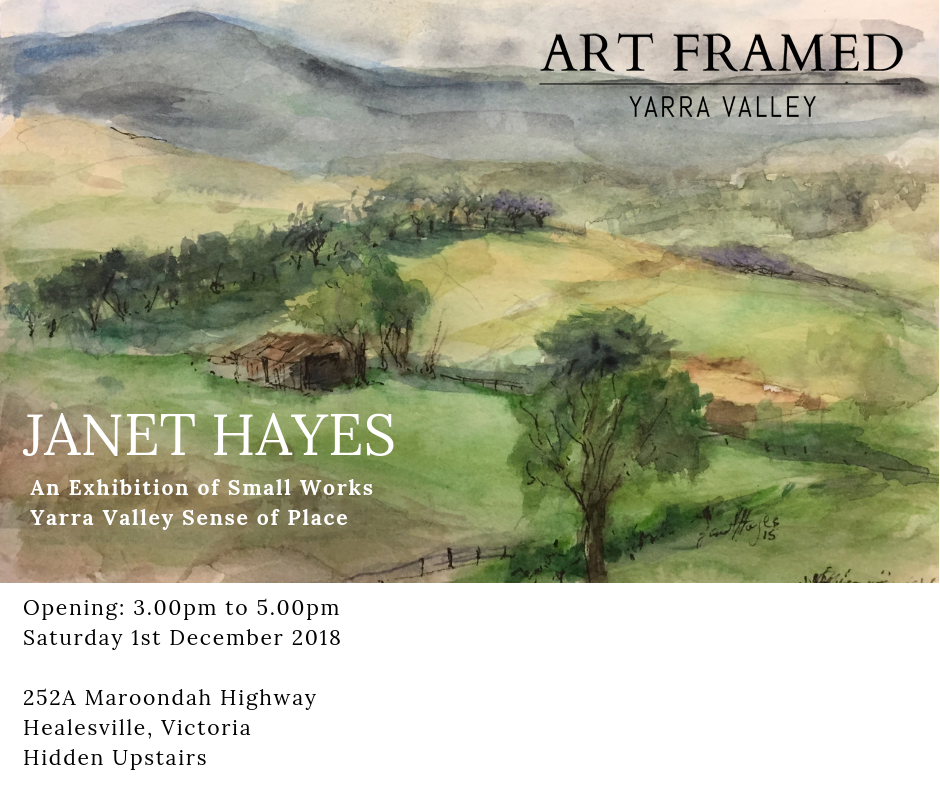 Janet Hayes Exhibition Art Framed Yarra Valley.png