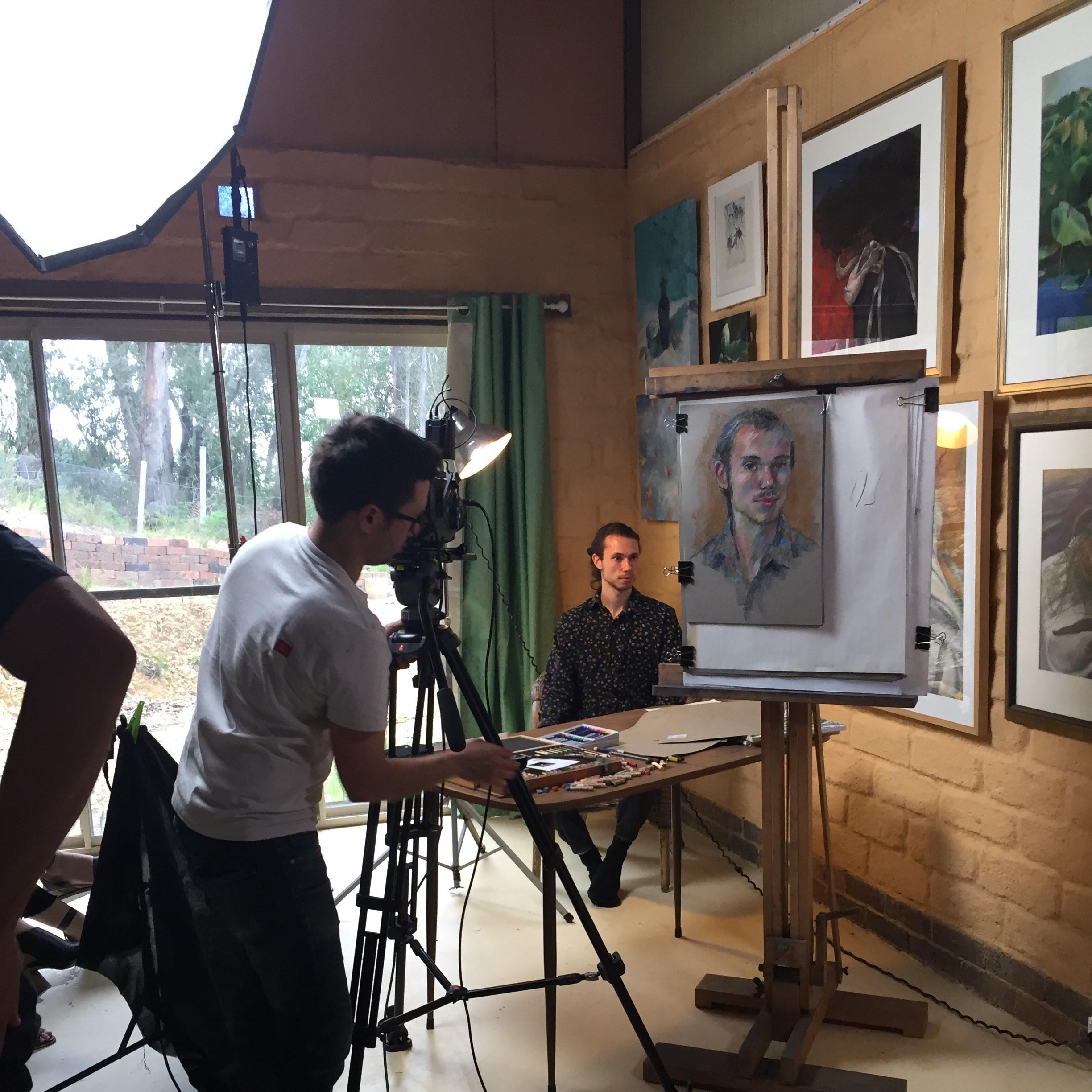 Officeworks video shoot, Janet Hayes.jpg