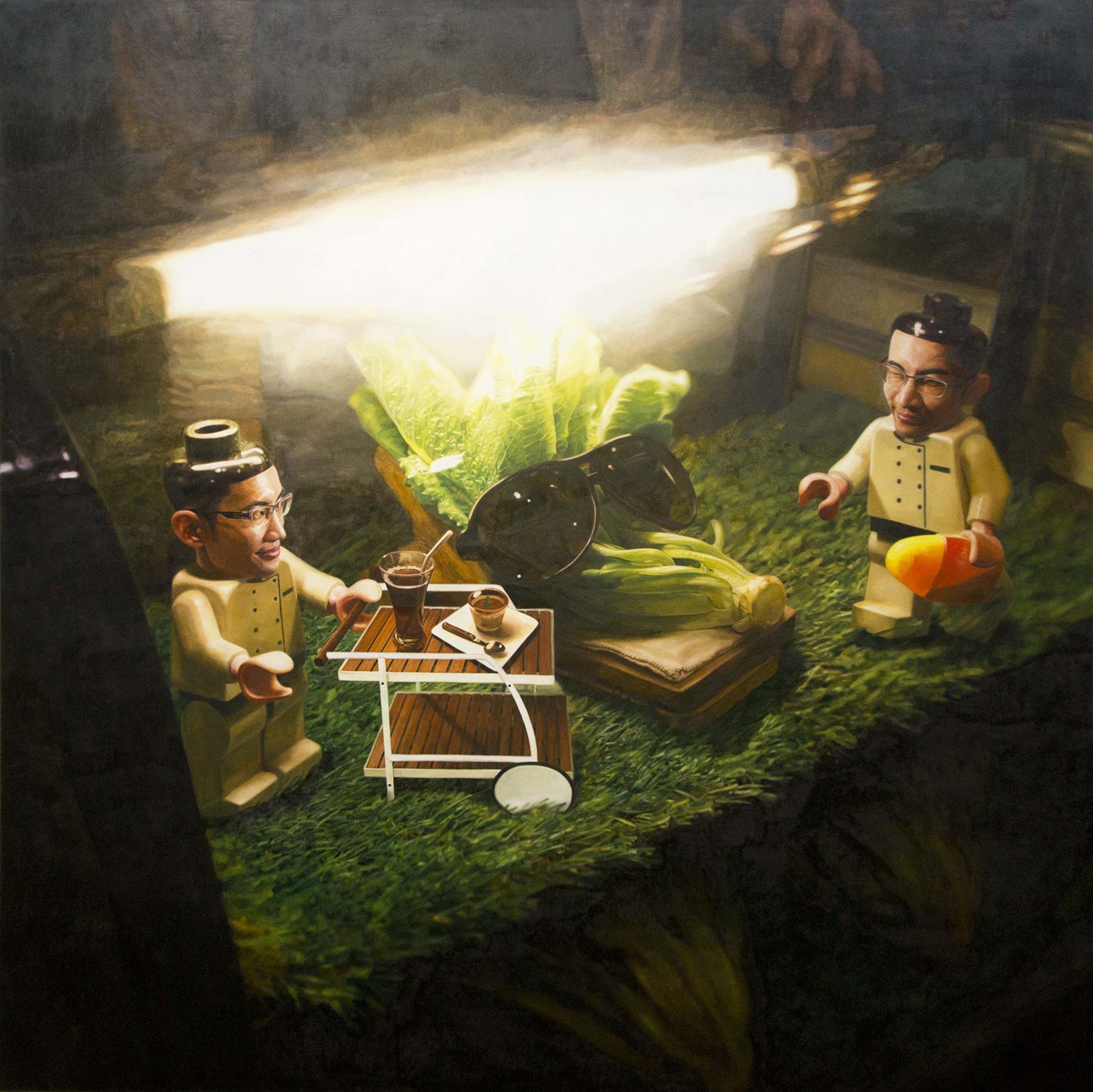 楊博堯 YANG Bo-Yao〈蔬菜工廠 Vegetable Factory〉