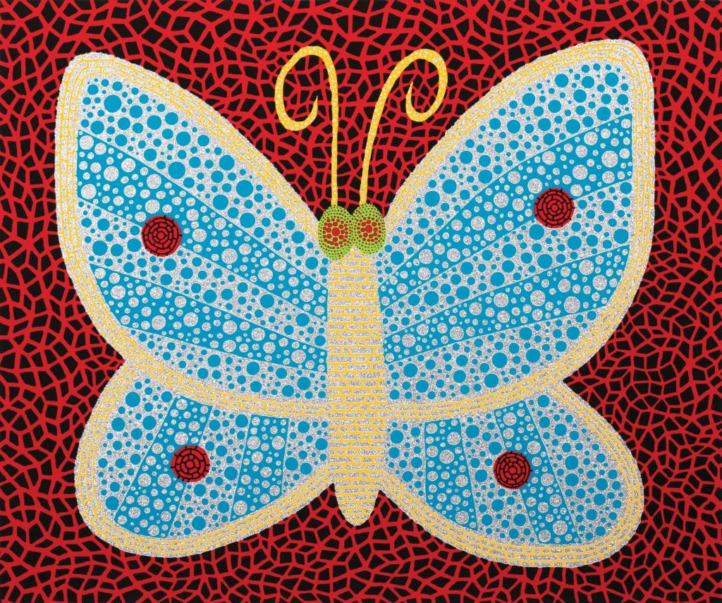 草間彌生 Yayoi KUSAMA〈No.289 蝴蝶 Butterfly (II)〉