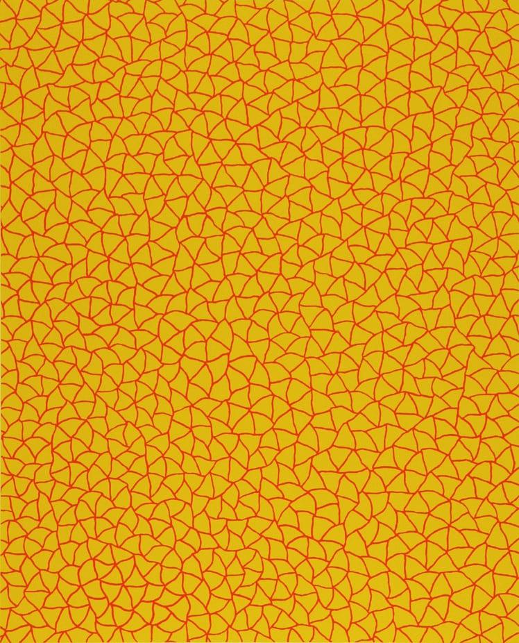 草間彌生 Yayoi KUSAMA〈No.322 無限的網 Infinity Nets (YOR)〉
