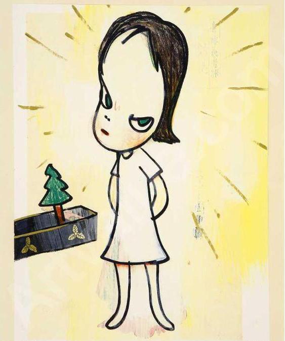 奈良美智 Yoshitomo NARA〈小聖誕樹 Little Tannenbaum〉