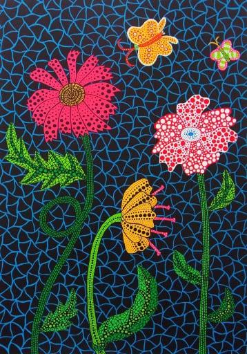 草間彌生 Yayoi KUSAMA〈No.309 花 Flowers〉