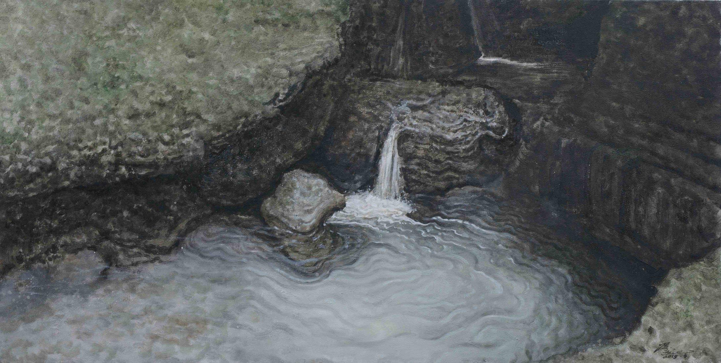 侯俊杰 HOU Junjie〈上善若水·聽泉NO.6 The Supreme Good is Like Water-Listening to the Spring NO.6〉