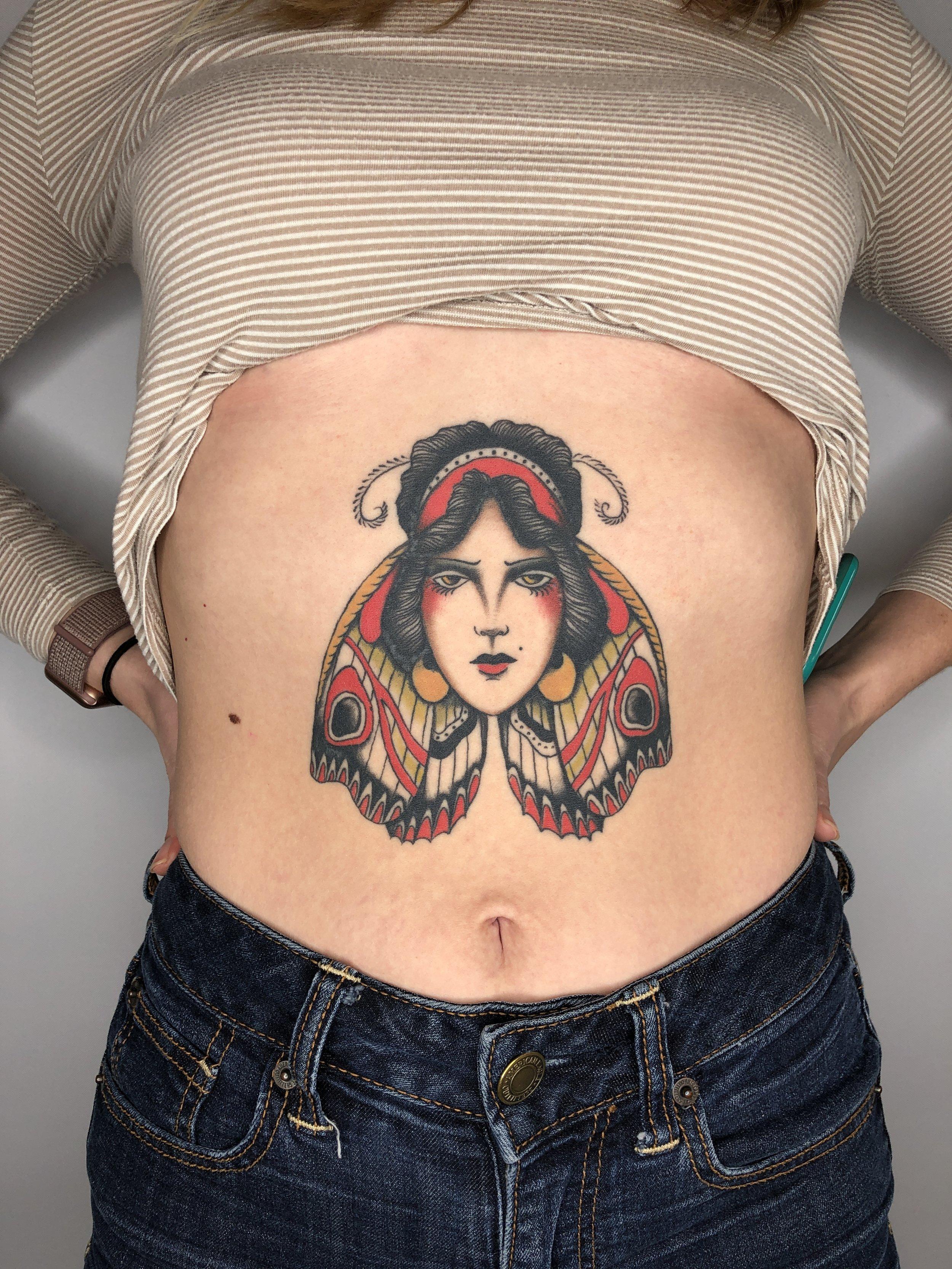 jon garber chest tattoo woman butterfly.JPG