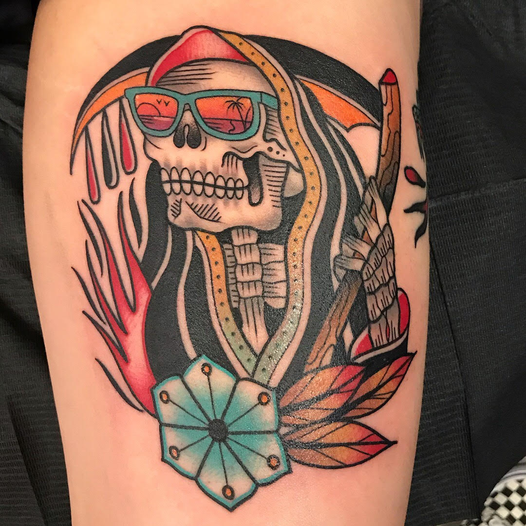 zack taylor dame of the west tattoo skull design.jpg