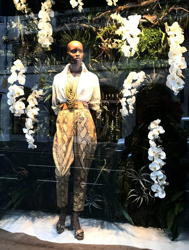 Ralph Lauren shop window