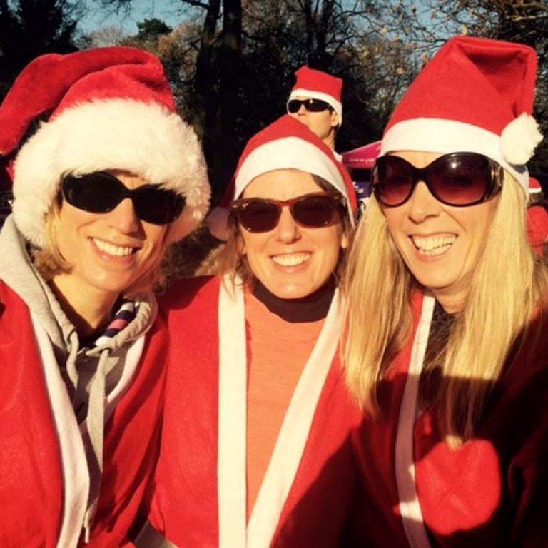 Santa Fun Run Andie