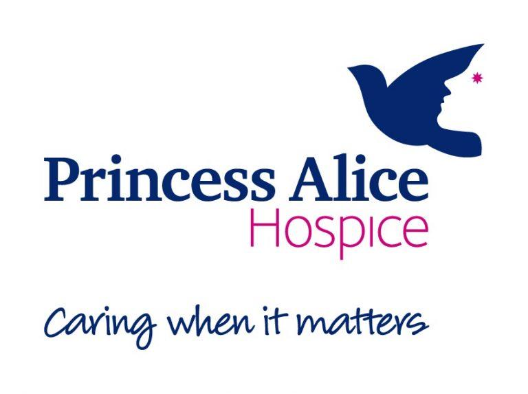 Princess Alice Hospice Logo and Strapline
