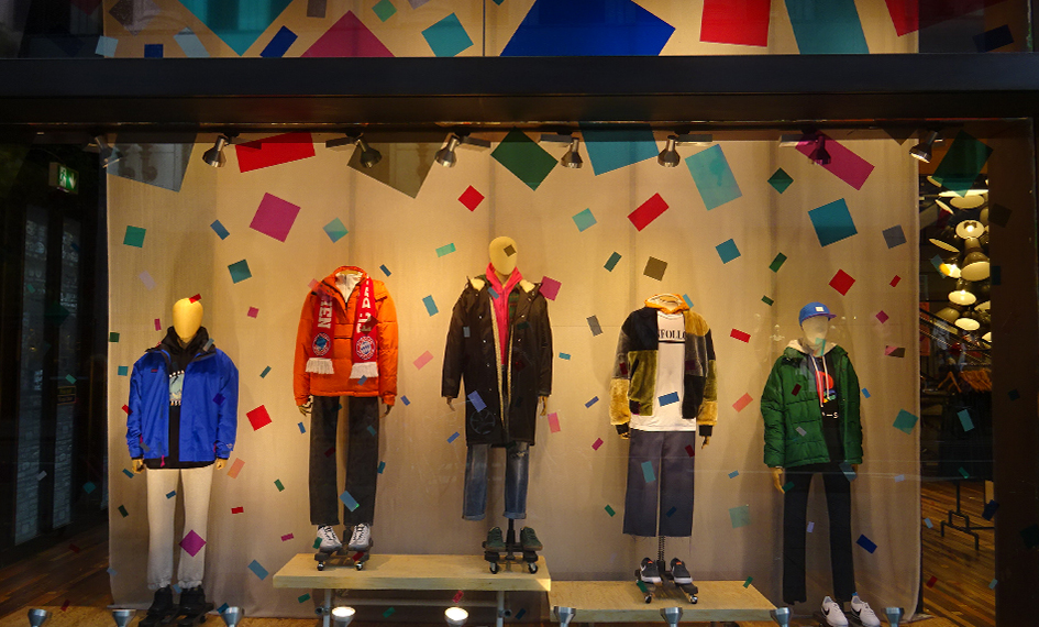 Urban Outfitters Christmas Window
