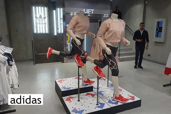 adidas mannequins