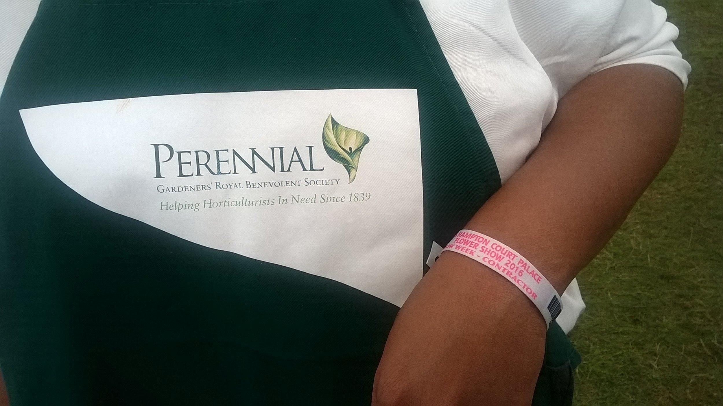 Perennial Volunteer Apron