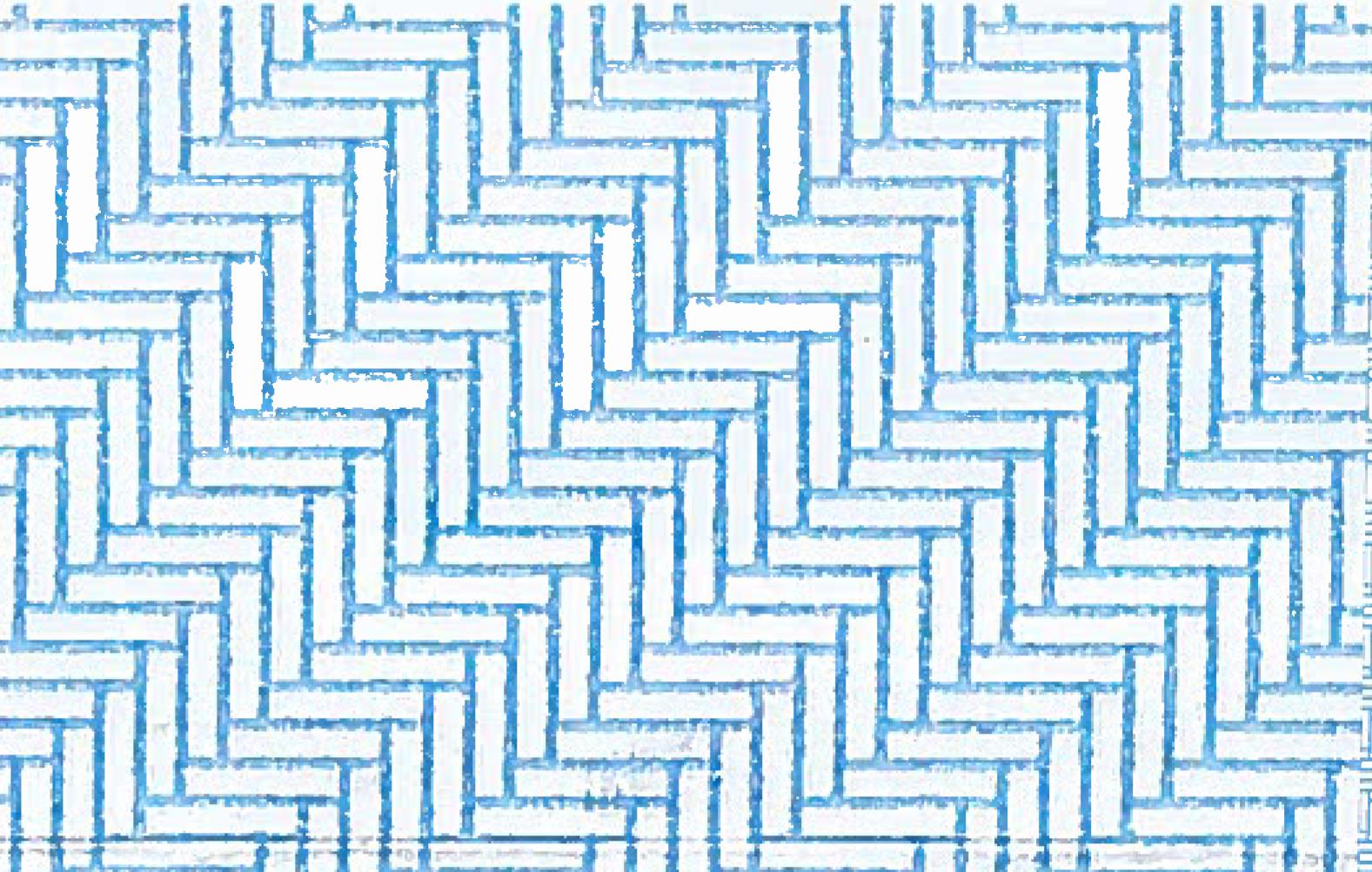 envelope security patterns blue and white herringbone