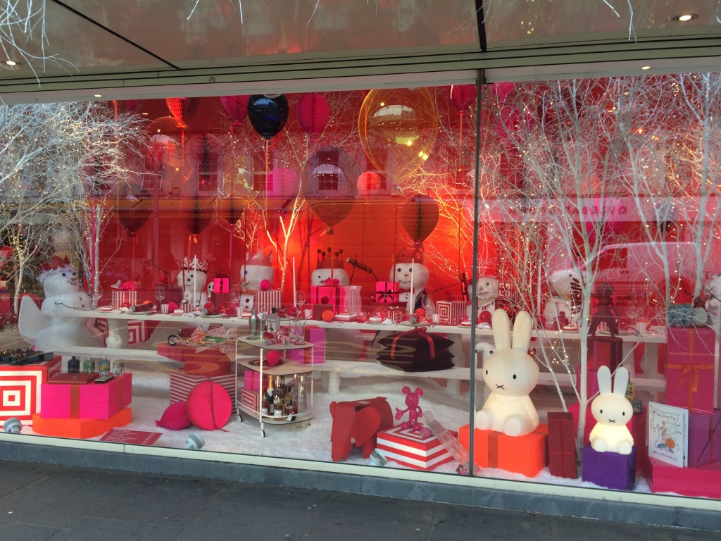 Conran Shop Christmas Window