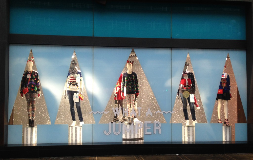 Primark Christmas Window