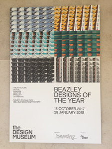Beazley Designs of the Year 2017 Poster