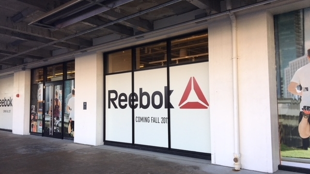 Reebok Store Opening Dry Dock Boston
