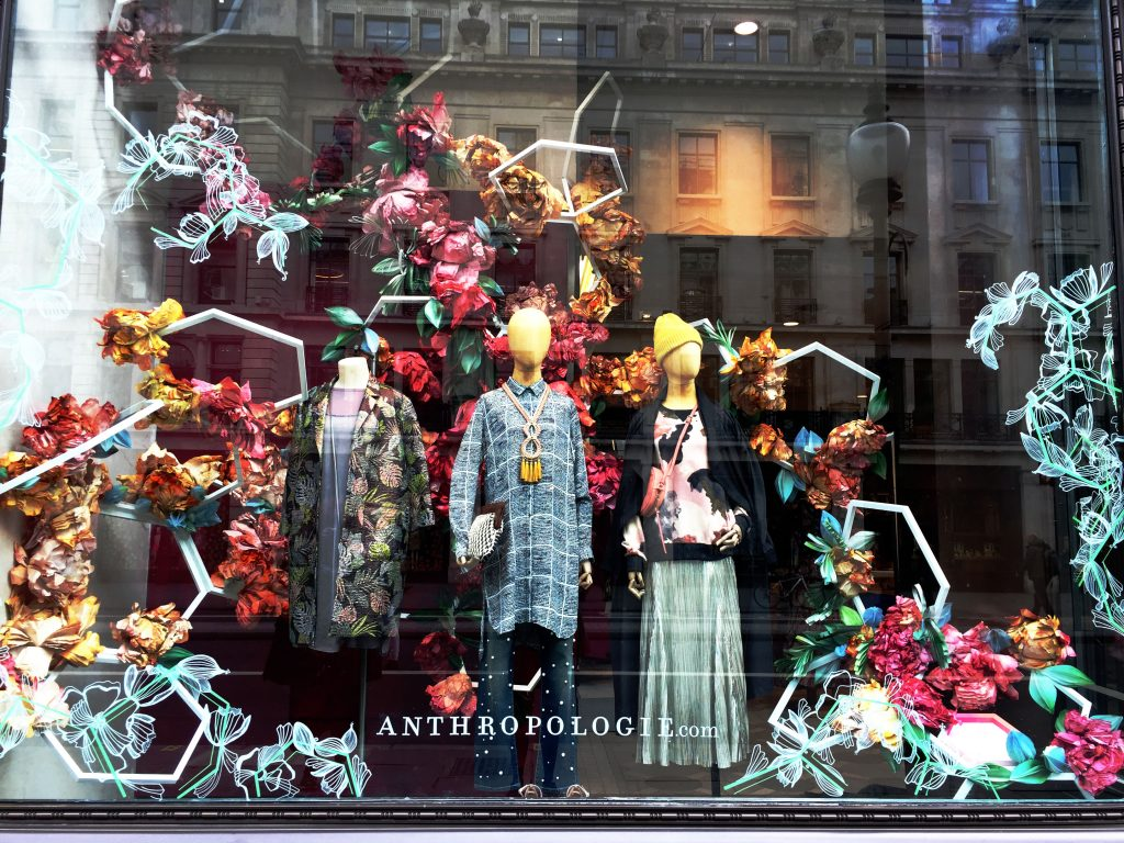 Anthropologie Shop Window