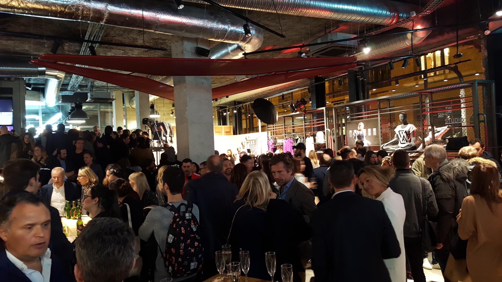 LA. SALLE. DE. SPORT Paris Launch Party