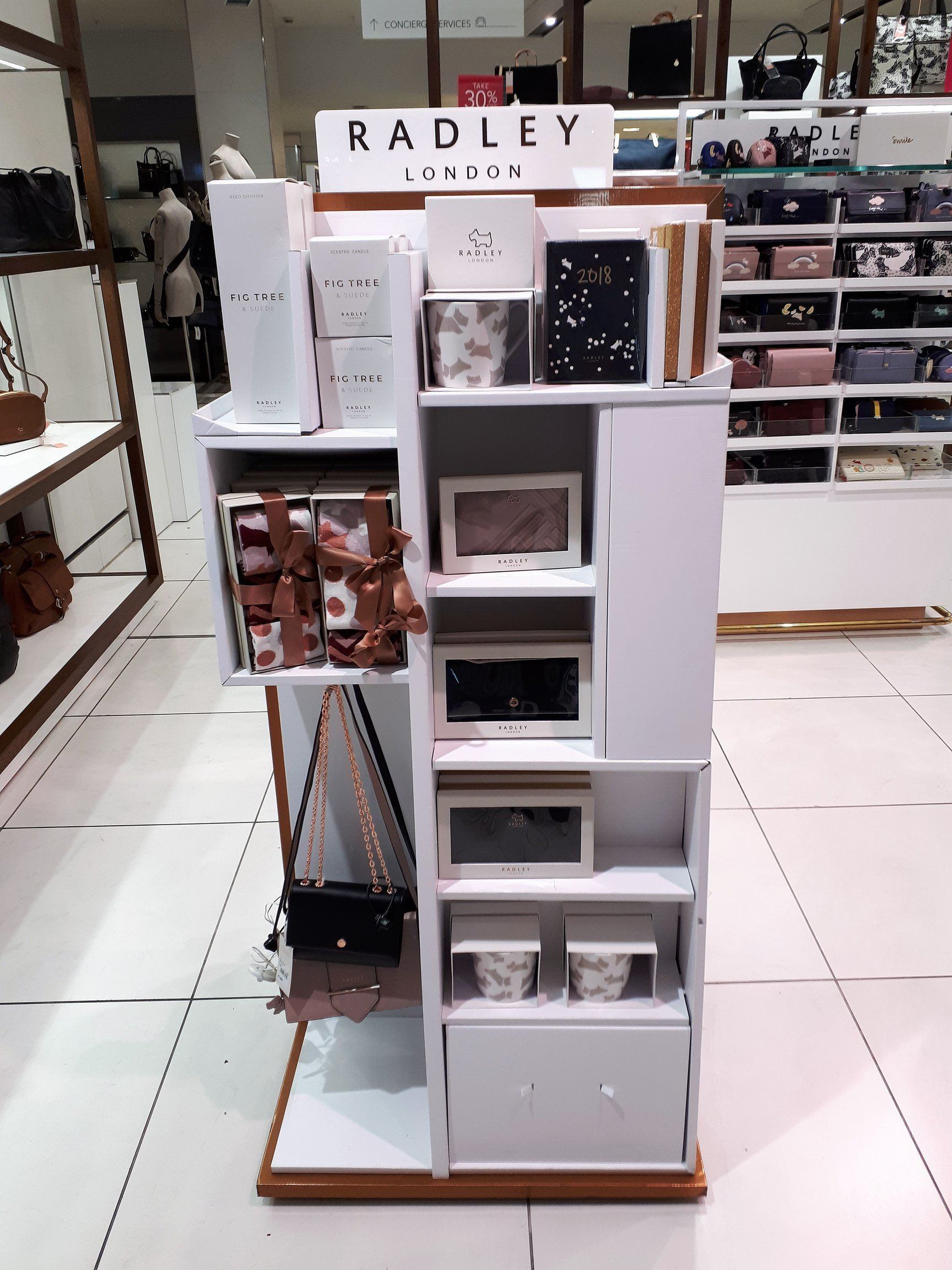 Christmas Gifting Unit In-Store Display