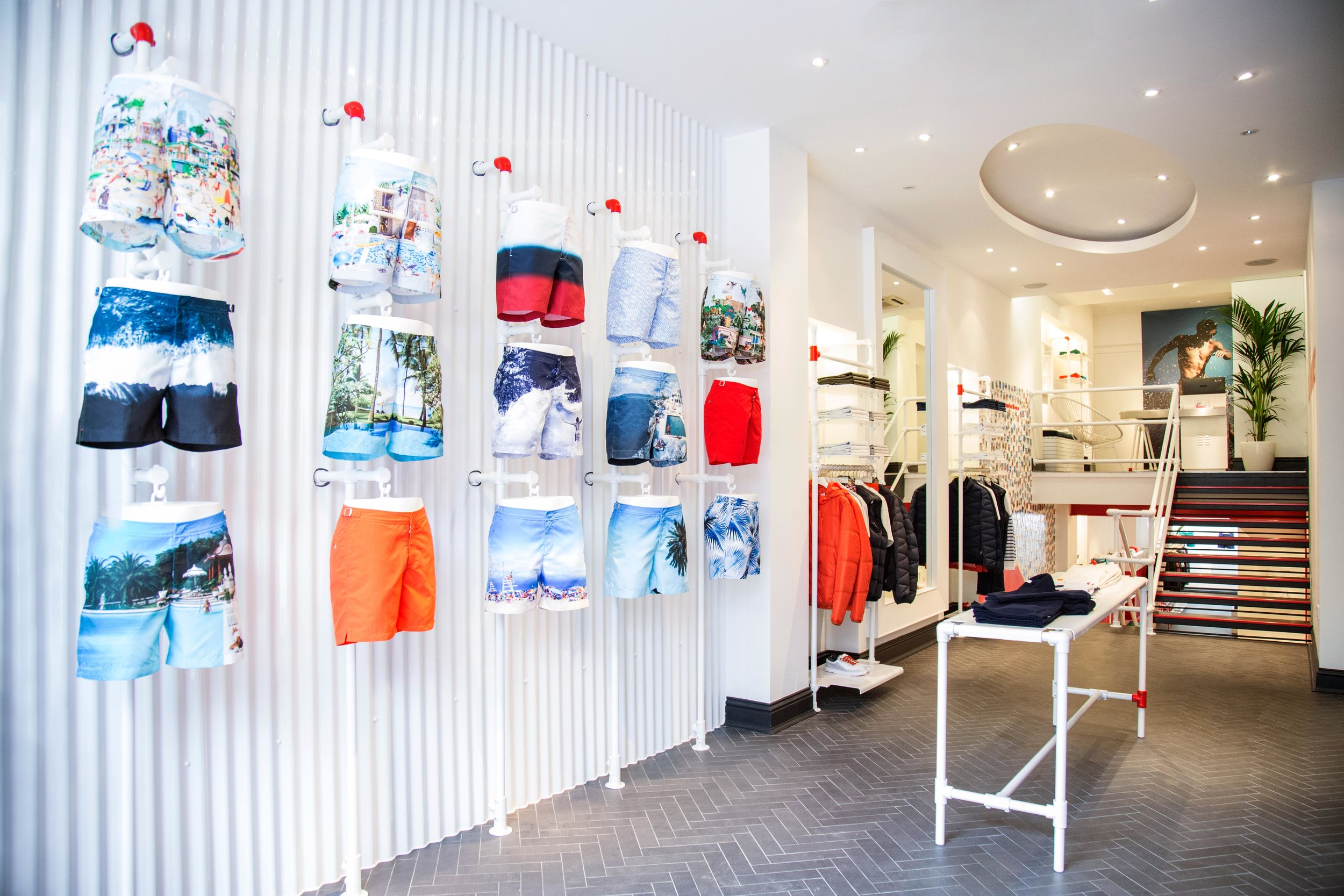 Orlebar Brown - Westbourne Grove store