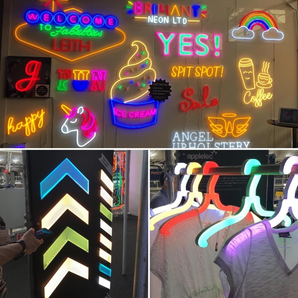 Brilliant Neon, Applelec - VM & Display show 2018