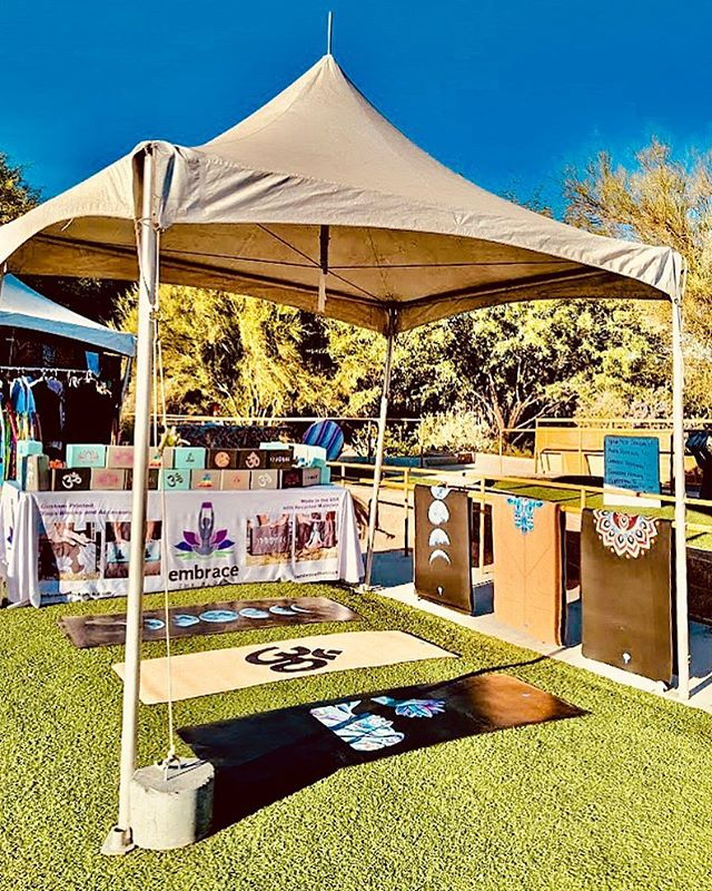 Sending out a major  #ThankYou to the @vegasyogafestival ! ~ This festival provided an amazing outdoor venue and space to share, connect and heal as a community. We look forward to working and creating with you again! ~ #Embrace your community ✨🙏✨ #VegasStrong #EmbraceYoga