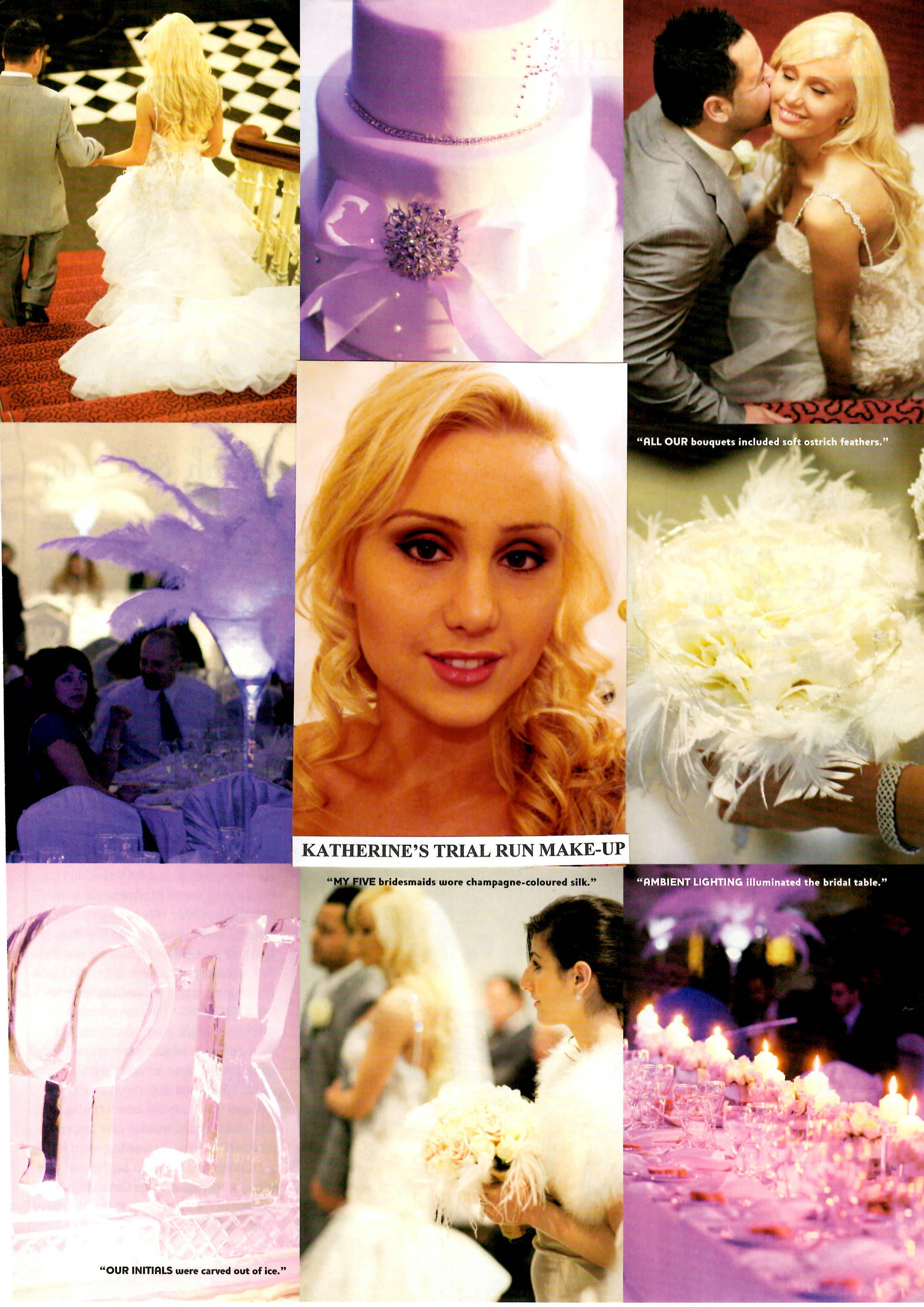 2002 | MU by Rachel featured in InStyle Wedding magazine