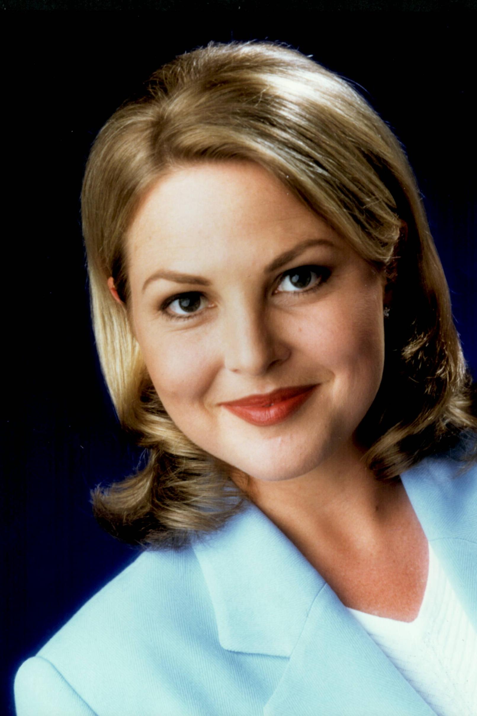 1990's | Makeup on Georgie Gardner (TV Presenter) for a publicity still