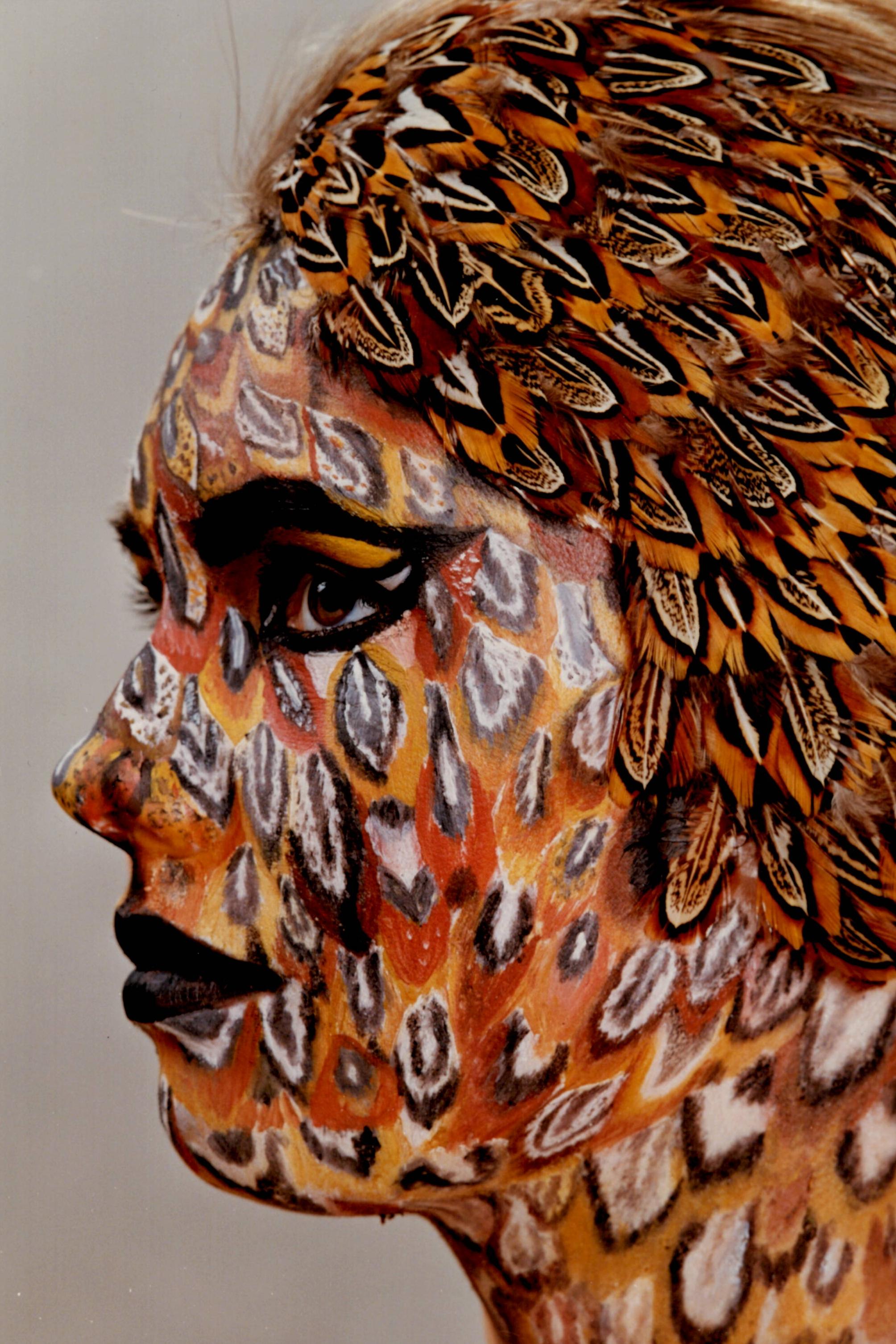 Portfolio Work | Fantasy Bird Makeup