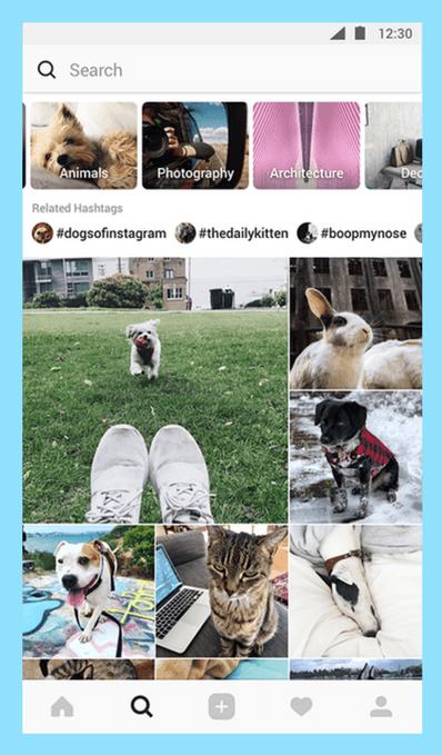 Instagram 2018 update