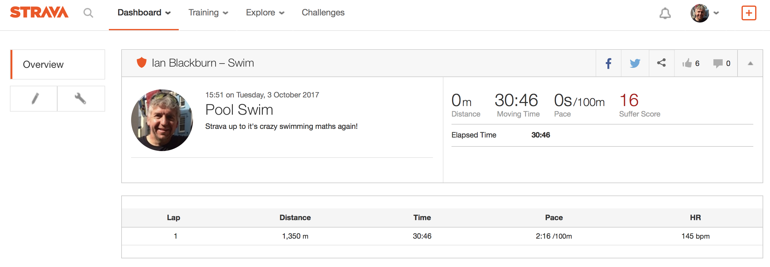 Come on Strava you can do better than this!