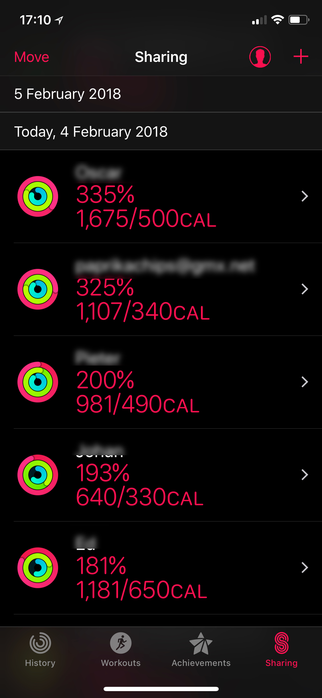 iPhone Activity App